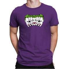 The Joke Has Many Faces Exclusive - Mens Premium - T-Shirts - RIPT Apparel