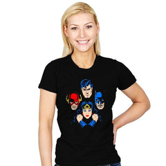 Heroes Rapsody - Womens - T-Shirts - RIPT Apparel