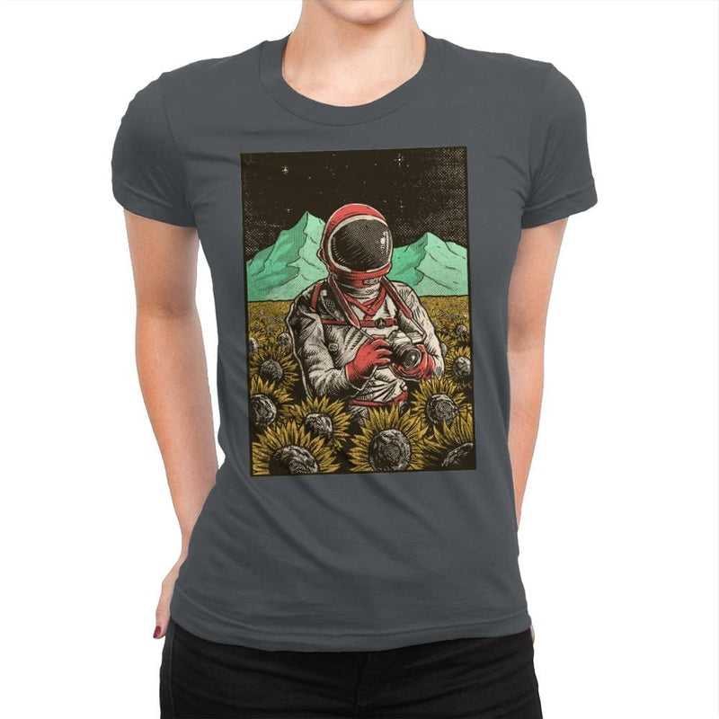 Outer Space Man - Womens Premium - T-Shirts - RIPT Apparel