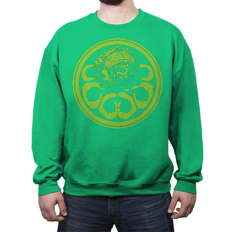 Hail Audrey II - Crew Neck Sweatshirt - Crew Neck Sweatshirt - RIPT Apparel