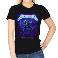 Blast The Lightning - Anytime - Womens - T-Shirts - RIPT Apparel