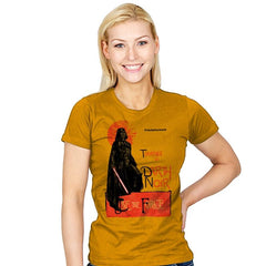 Darth Noir - Womens - T-Shirts - RIPT Apparel