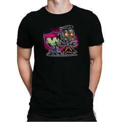 Invaders of The Galaxy Part 2 Exclusive - Awesome Mixtees - Mens Premium - T-Shirts - RIPT Apparel
