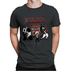 Rock & Roll Animals - Mens Premium - T-Shirts - RIPT Apparel
