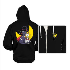 Moonlight Cats - Hoodies - Hoodies - RIPT Apparel