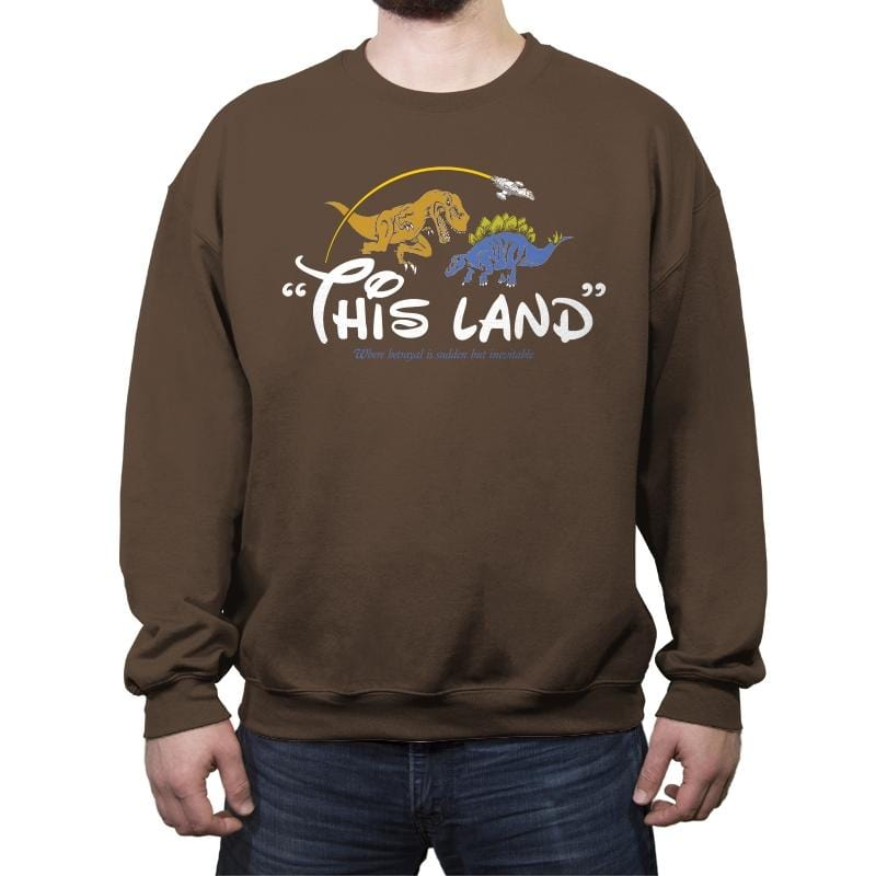 This(ney)land - Crew Neck Sweatshirt - Crew Neck Sweatshirt - RIPT Apparel