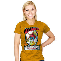 All Might No. 1 - Womens - T-Shirts - RIPT Apparel