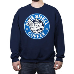 Coffee Seeker - Crew Neck Sweatshirt - Crew Neck Sweatshirt - RIPT Apparel