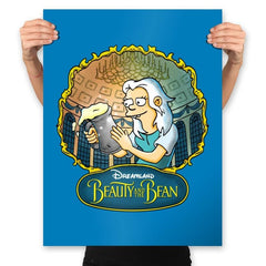 Beauty and the Bean - Prints - Posters - RIPT Apparel