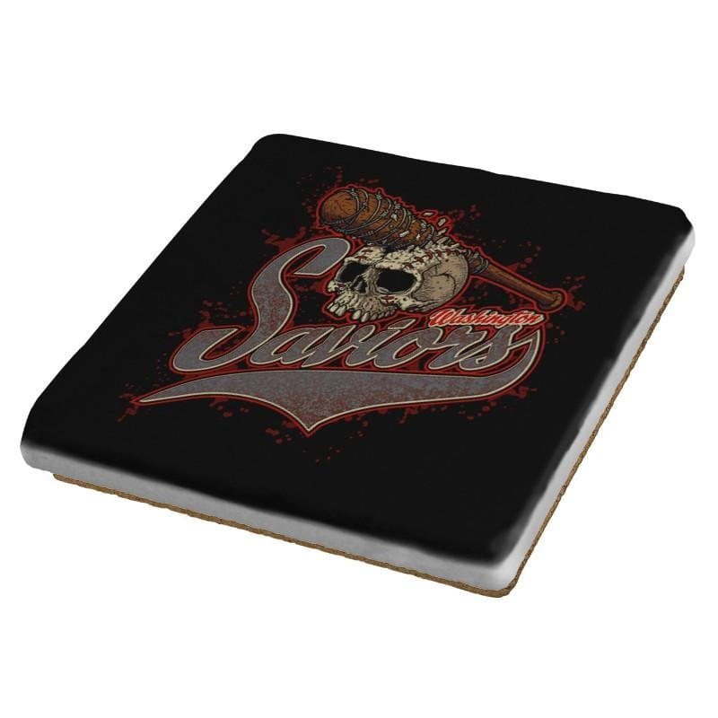 Washington Saviors - Coasters - Coasters - RIPT Apparel