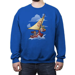Water Waker - Crew Neck Sweatshirt - Crew Neck Sweatshirt - RIPT Apparel