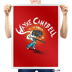 Wayne vs The World - Prints - Posters - RIPT Apparel