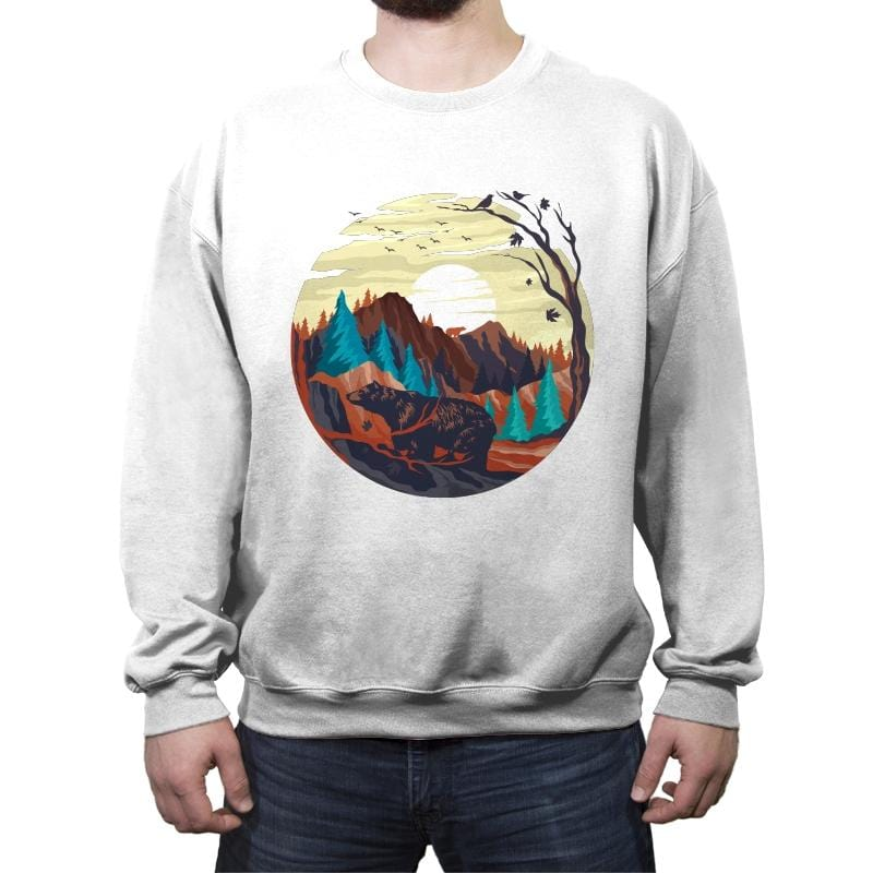 Nature Chill - Crew Neck Sweatshirt - Crew Neck Sweatshirt - RIPT Apparel