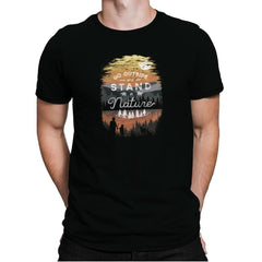 Go Outside - Back to Nature - Mens Premium - T-Shirts - RIPT Apparel