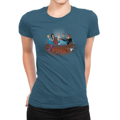 Hot Tub Time Travelers Exclusive - Womens Premium - T-Shirts - RIPT Apparel