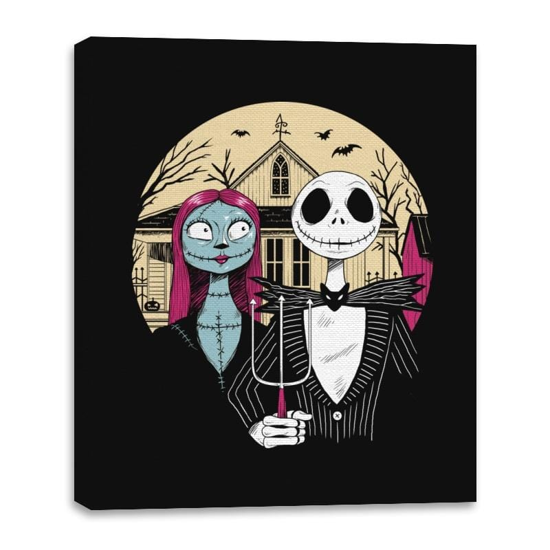 Nightmare Gothic - Canvas Wraps - Canvas Wraps - RIPT Apparel