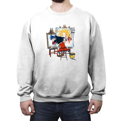 Paint the Future - Crew Neck Sweatshirt - Crew Neck Sweatshirt - RIPT Apparel