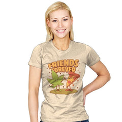Cute Friends - Womens - T-Shirts - RIPT Apparel