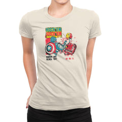 Rock 'em Sock 'em Rivals Exclusive - Womens Premium - T-Shirts - RIPT Apparel
