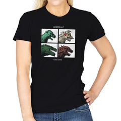 Godzillaz - Kaiju Days Exclusive - Womens - T-Shirts - RIPT Apparel