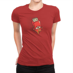 Flash Drive - Womens Premium - T-Shirts - RIPT Apparel