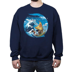 A Tropical Journey - Crew Neck Sweatshirt - Crew Neck Sweatshirt - RIPT Apparel