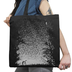 Pixel Space - Back to Nature - Tote Bag - Tote Bag - RIPT Apparel