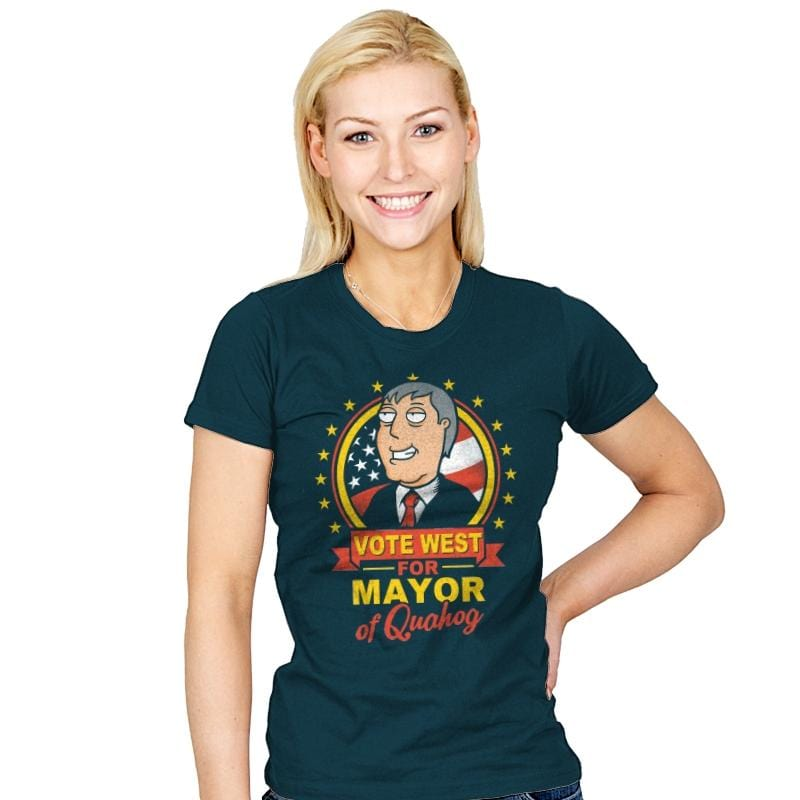 Vote West - Womens - T-Shirts - RIPT Apparel
