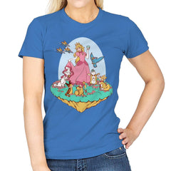 Snow Peach of Lylat - Womens - T-Shirts - RIPT Apparel