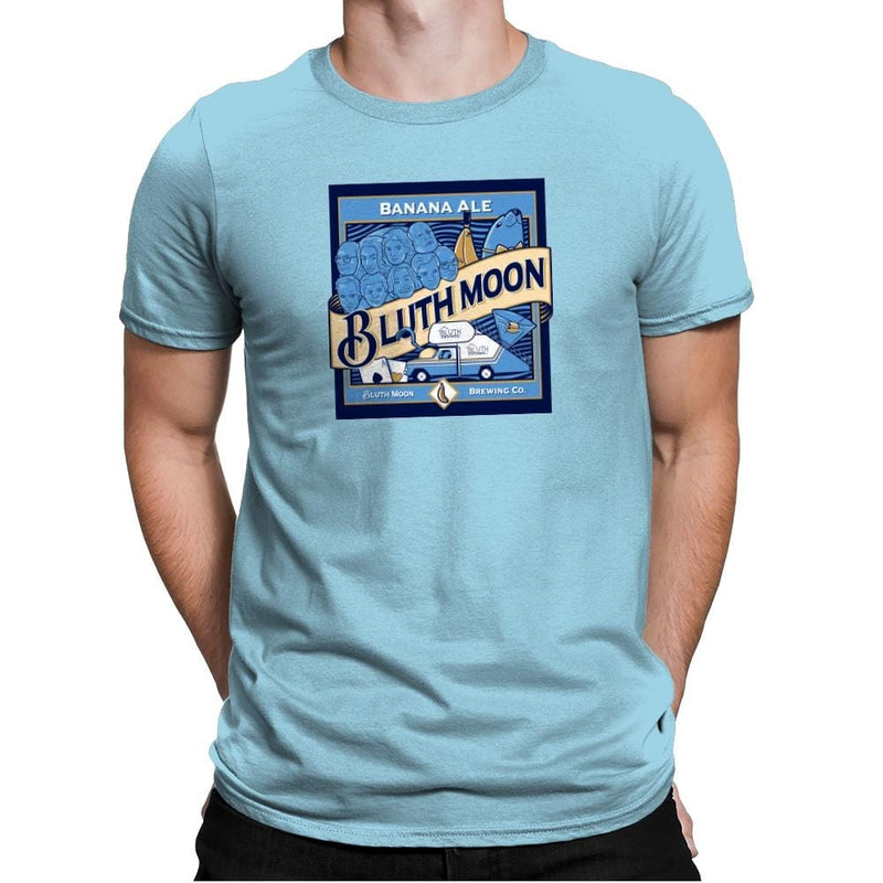 Bluth Moon Exclusive - Mens Premium - T-Shirts - RIPT Apparel
