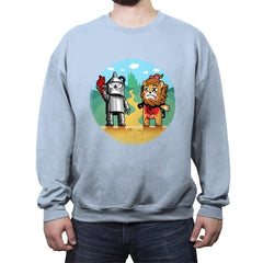 Ozality - Crew Neck Sweatshirt - Crew Neck Sweatshirt - RIPT Apparel