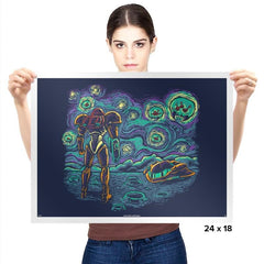 Starry Parasite Exclusive - Prints - Posters - RIPT Apparel