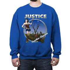 Superhero Kingdom - Crew Neck Sweatshirt - Crew Neck Sweatshirt - RIPT Apparel