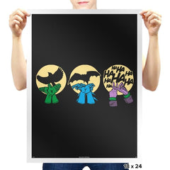 Dark Night Activities - Prints - Posters - RIPT Apparel