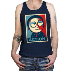 Now Is The Time For Action! - Tanktop - Tanktop - RIPT Apparel