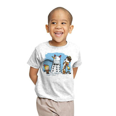 The Snow Dalek - Youth - T-Shirts - RIPT Apparel