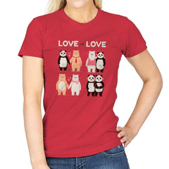 Love Is Love  - Womens - T-Shirts - RIPT Apparel