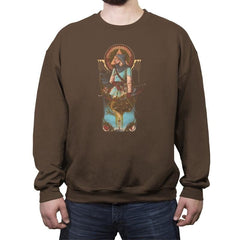 Hero of the Wild - Crew Neck Sweatshirt - Crew Neck Sweatshirt - RIPT Apparel