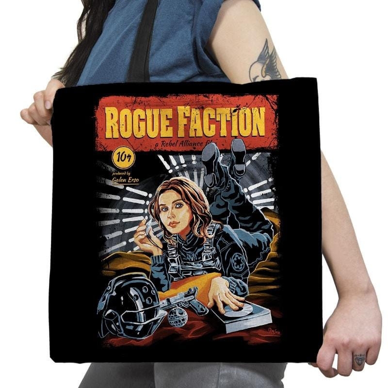 Rogue Faction Exclusive - Tote Bag - Tote Bag - RIPT Apparel