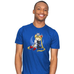 Crazy Moon Cat Lady - Miniature Mayhem - Mens - T-Shirts - RIPT Apparel