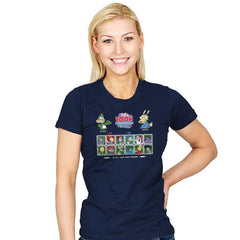 90's Toon Throwdown Exclusive - 90s Kid - Womens - T-Shirts - RIPT Apparel