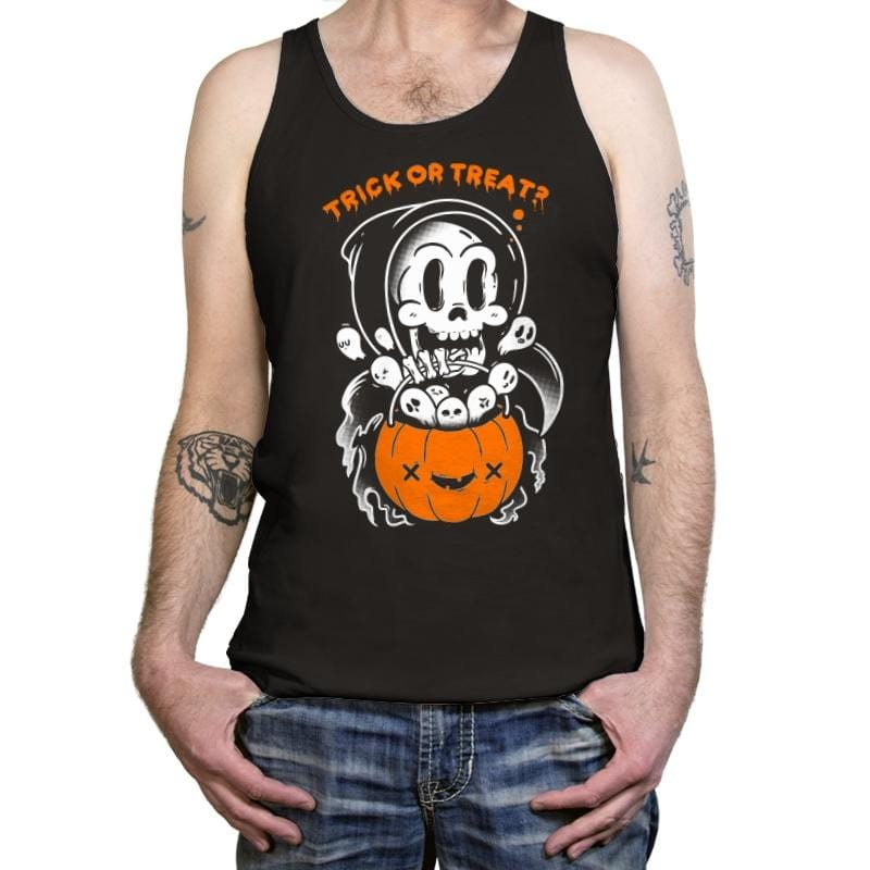 Death's Trick or Treat - Anytime - Tanktop - Tanktop - RIPT Apparel