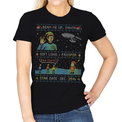 Gift Long and Prosper - Ugly Holiday - Womens - T-Shirts - RIPT Apparel