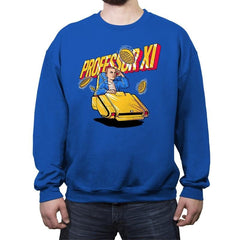 Professor XI - Crew Neck Sweatshirt - Crew Neck Sweatshirt - RIPT Apparel