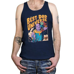 The Best Dad in the Universe - Tanktop - Tanktop - RIPT Apparel