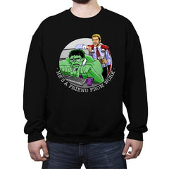 Workfriends - Crew Neck Sweatshirt - Crew Neck Sweatshirt - RIPT Apparel