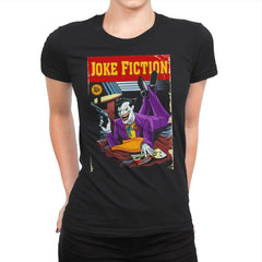 Joke Fiction HA - Womens Premium - T-Shirts - RIPT Apparel