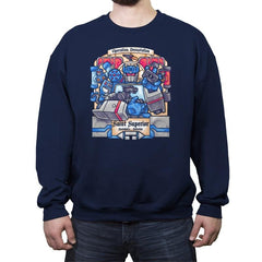 Saint Superior - Crew Neck Sweatshirt - Crew Neck Sweatshirt - RIPT Apparel