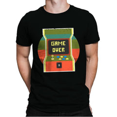 Video Game Over - Mens Premium - T-Shirts - RIPT Apparel