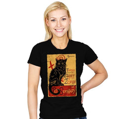 Chat Zombi - Womens - T-Shirts - RIPT Apparel